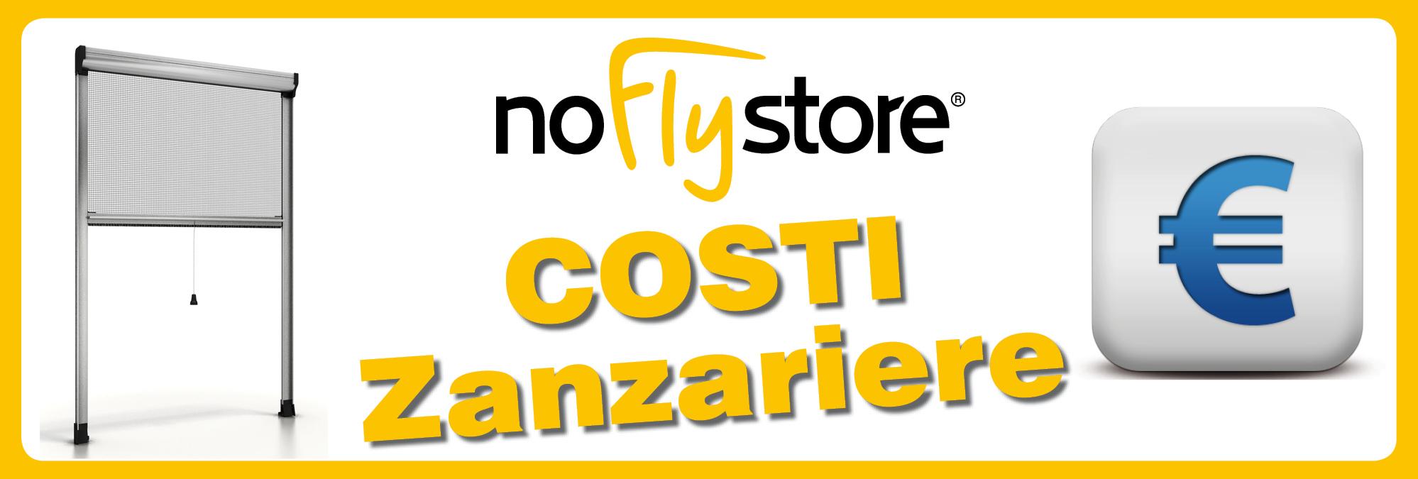 Costi applicati per le zanzariere - NoFlyStore