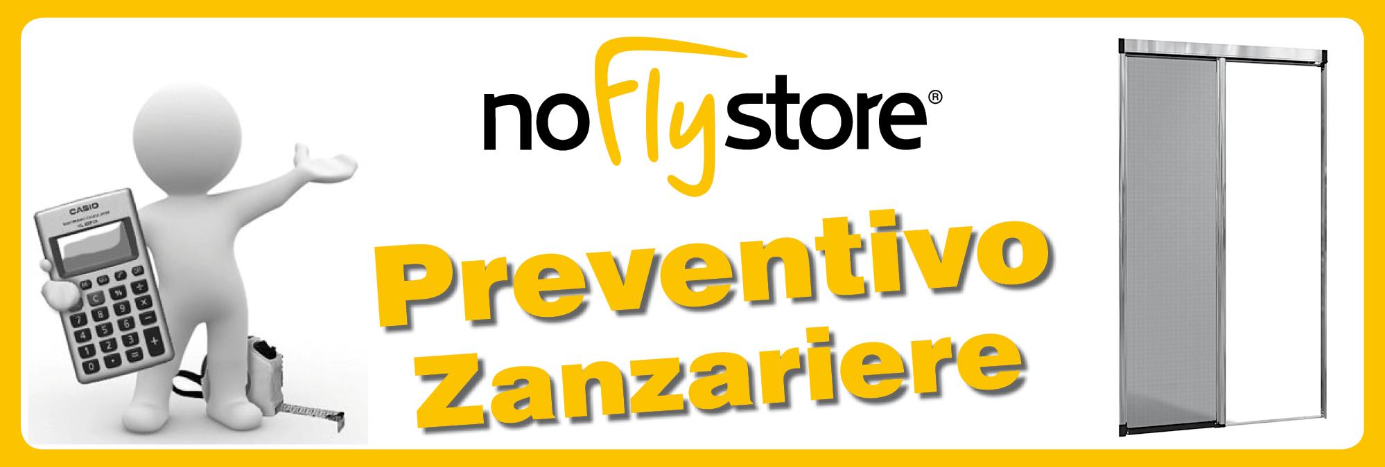 Preventivi per Zanzariere - NoFlyStore