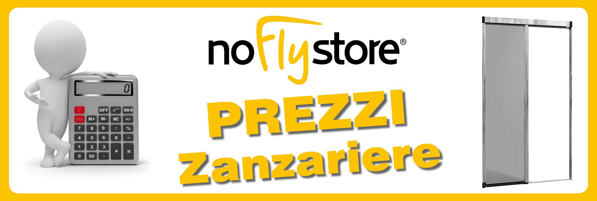 Prezzi delle zanzariere NoFlyStore