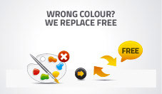 Free Returns of your Insect Screens NoFlyStore in case of wrong colour