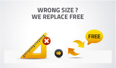 Free Returns of your Insect Screens NoFlyStore in case of wrong size